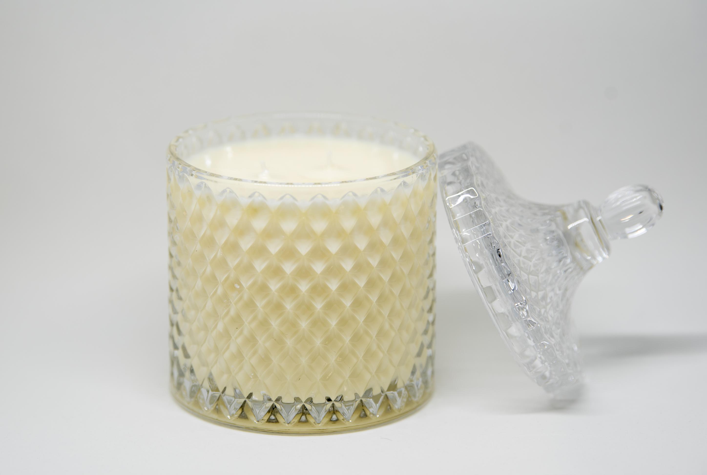 luxury crystal jar candles