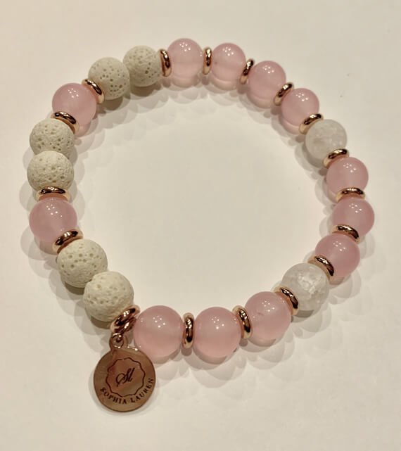 Moments Collection, adult essential oil bracelet